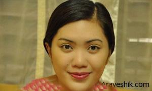 آموزش گام به گام روش صحیح آرایش لب تصاویر