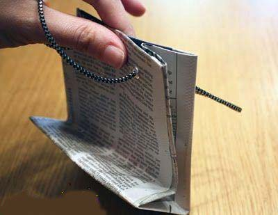 آموزش ساخت کیف دستی به شکل های مختلف و بسیار زیبا با مقوا تصاویر