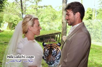 غافلگیری در عکس های عروسی