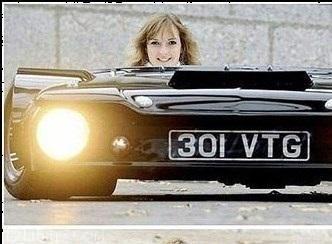 کوتاه ترین ماشین جهان ساخته شد!!! تصاویر