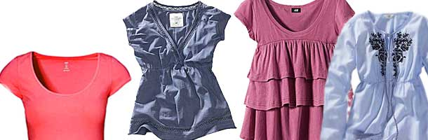 اصول انتخاب تی شرت مناسب زنانه/ شیک پوشی درخانه تصاویر