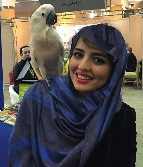 شباهت جالب نرگس محمدی و خواهرش سارا