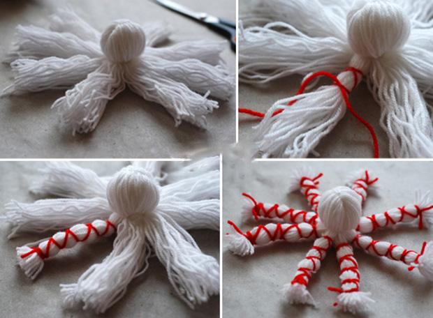 آموزش ساخت عروسک هشت پا با کاموا و روشی بسیار ساده