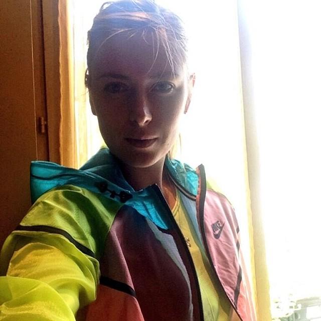 ورزشکار مشهور زن سلفی باز