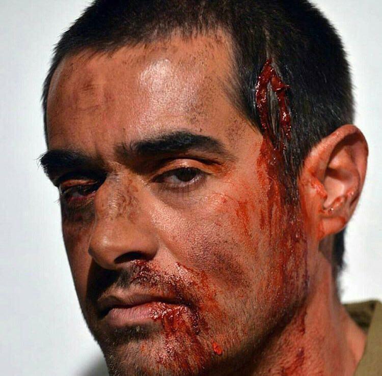 گریم عجیب شهاب حسینی در سرزمین کهن! عکس