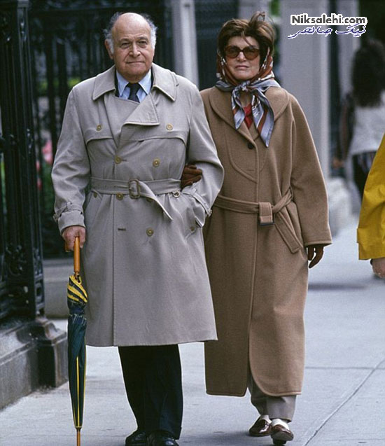 تیپ مانتو و روسری کیتی هولمز همسرسابق تام کروز