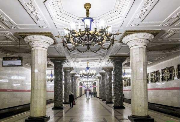 ایستگاه مترو Park Pobedy در مسکو