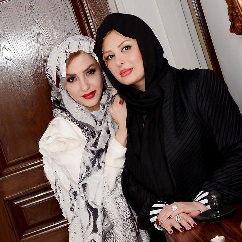 عکس های جدید نیوشا ضیغمی در کنار خانم دکتر کلینیک زیبایی