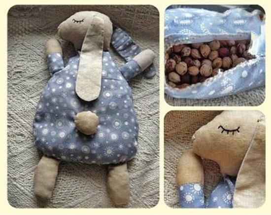 آموزش ساخت عروسک پارچه ای با شکم شکلاتی