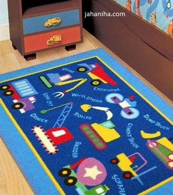 جدیدترین مدل فرش اتاق کودک سال 2016