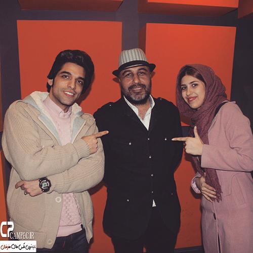 عکس های جدید رضا عطاران و همسرش