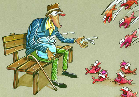 کاریکاتور محیط زیست