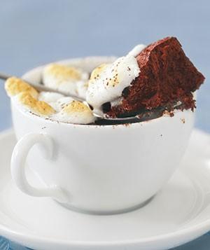کیک شکلاتی گرم مخصوص عصرهای پاییزی! عکس
