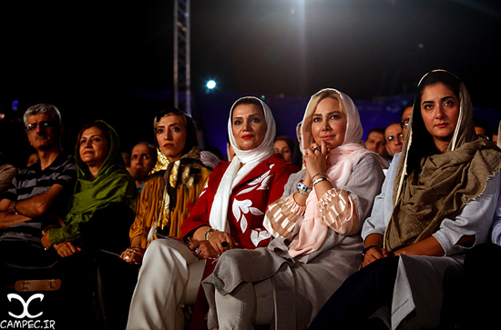 بازیگران مشهور زن در کنسرت شهرام و حافظ ناظری در برج میلاد