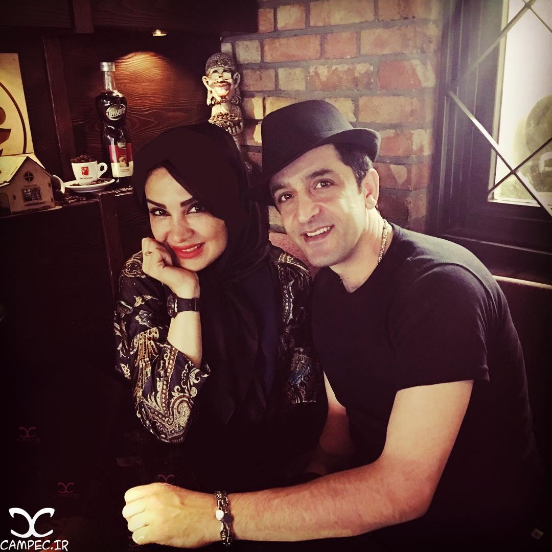 عکس های زیبا و جدید مجید یاسر و همسر بازیگرش مهشید حبیبی