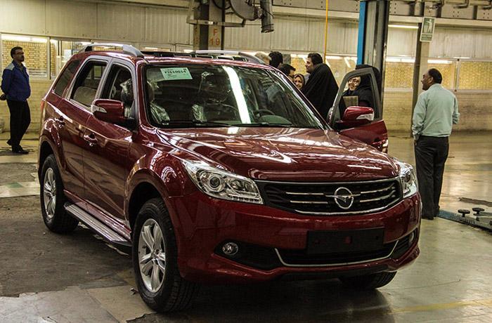 قیمت خودرو هایماs7 اعلام شد