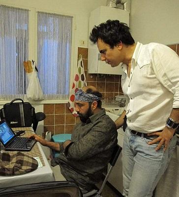 عکس های فیلم و پشت صحنه ردکارپت با هنرنمایی رضاعطاران
