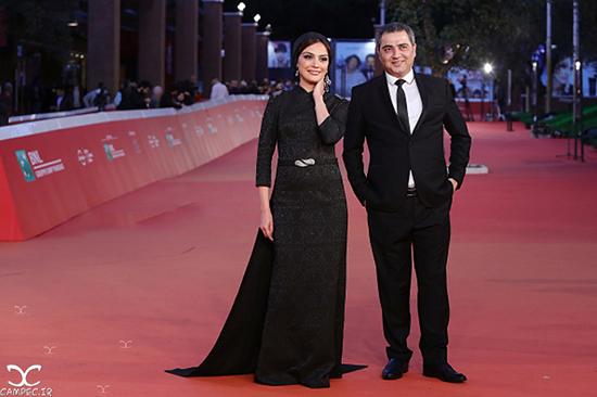 عکسهای آنا نعمتی و دیگر بازیگران و عوامل فیلم جاودانگی در جشنواره فیلم رم