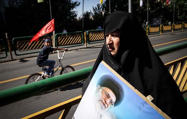 عکس های هوایی از راهپیمایی روز قدس در تهران