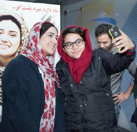 چهره متفاوت یکتا ناصر و خنده های باران کوثری! تصاویر
