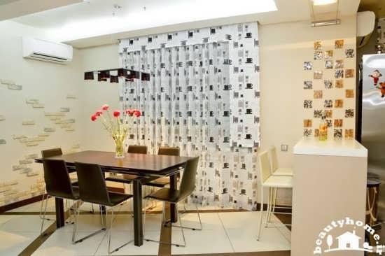 مدل پرده آشپزخانه جدید و زیبا  تصاویر