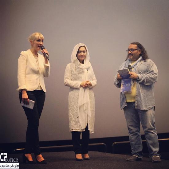 چهره و پوشش نیکی کریمی در جشنواره بین المللی فیلم دبی