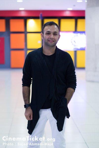 صابر ابر در مراسم دیدار با عوامل فیلم قندون جهیزیه