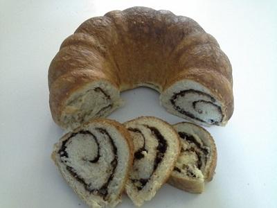 نان رول دارچینی معطر و خوشمزه عکس
