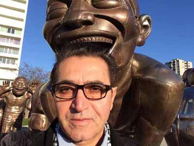 فریدون آسرایی در کانادا تصاویر