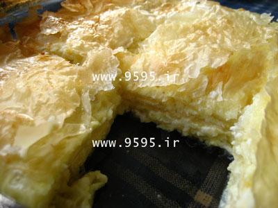 پای پنیر با یوفکا فوری و لذیذ!
