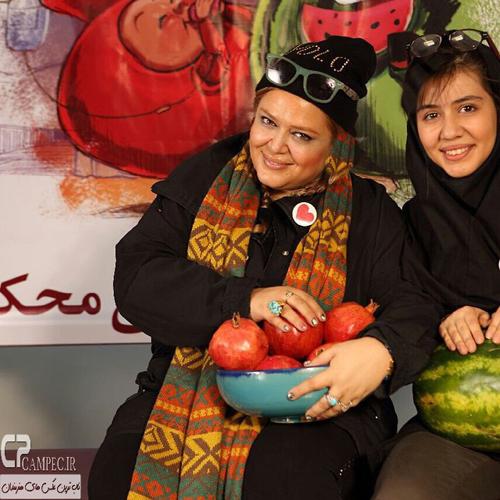 عکس های زیبای شب یلدایی بهاره رهنما و دخترش