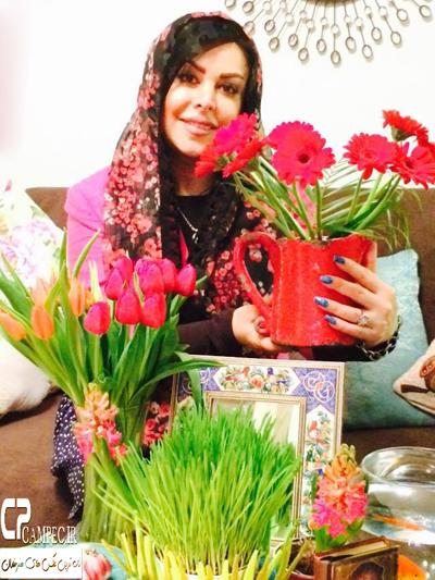 تصویر نوروزی فلور نظری بازیگر زن ایرانی عکس