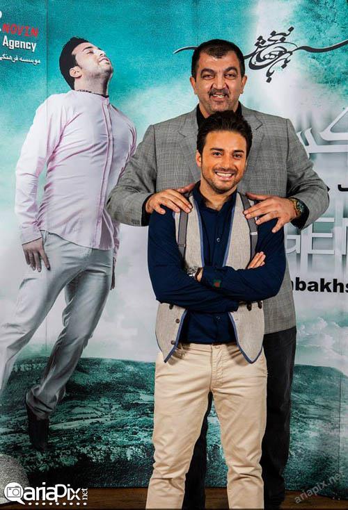 احمد ایراندوست در کنسرت بابک جهانبخش