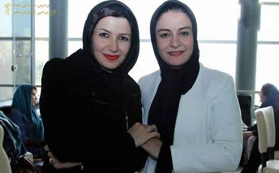 مریلا زارعی و خواهرش ملیکا زارعی هنرمندان کشور تصاویر