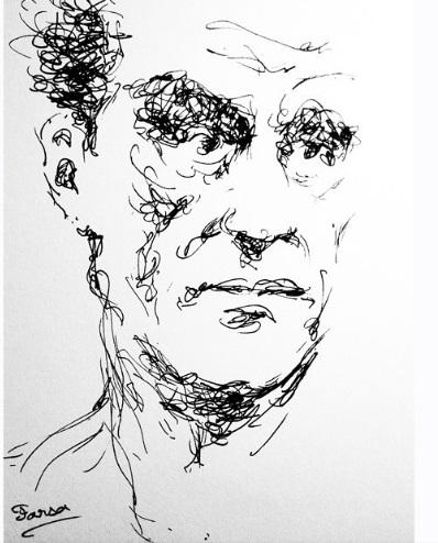 نقاشی جدید «پارسا پیروزفر» عکس