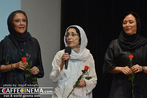 افتتاحیه فیلم سینمایی خانوم با حضور هنرمندان مشهور