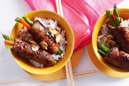 کباب لذیذ به سبک ژاپنی! عکس