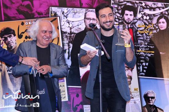 تصاویر جشن روزنامه سینما با حضور بازیگران مشهور و سینماگران