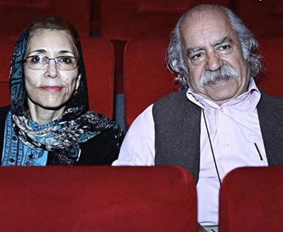 تصویری از پدر و مادر گلشیفته فراهانی عکس