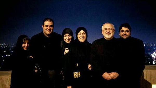 خانواده «محمد جواد ظریف» را ببنید! عکس
