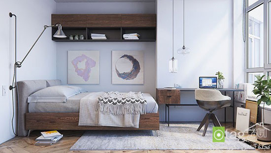اتاق خوابِ اسکاندیناویایی