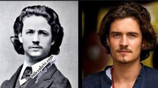 افراد مشهوری با شباهت ترسناک به برخی از انسان های تاریخ