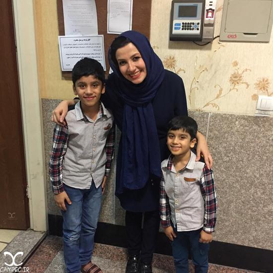 عکس ها و بیوگرافی ملیکا زارعی مجری برنامه کودک و خواهر مریلا زارعی