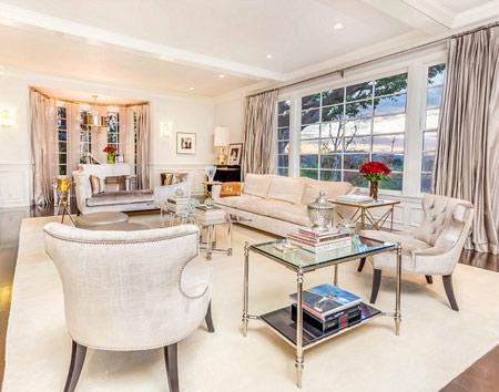 دکوراسیون بسیار زیبای خانه جنیفر لوپز  تصاویر