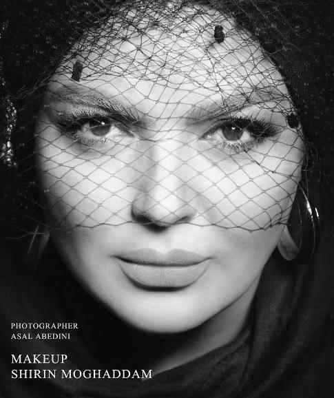 شهرزاد عبدالمجید بازیگر 47 ساله کشورمان مدل آرایشی شد! تصاویر