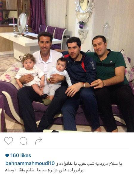 بهنام محمودی و شهرام محمودی والیبالیست های مشهور تصاویر
