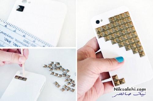 ایده های جالب و زیبا برای تزئین قاب گوشی