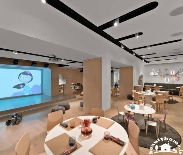 دکوراسیون رستوران مدرن با طراحی هنرمندانه  تصاویر