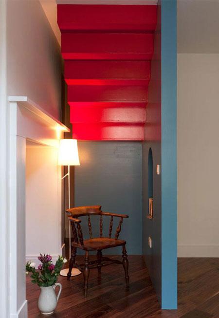 خانه ای که رنگ هایش قلبتان را به تپش وا می دارد  تصاویر