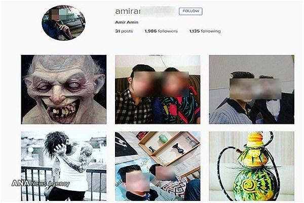 عکسهای صفحه اجتماعی قاتل ستایش و حضور او در داگاه